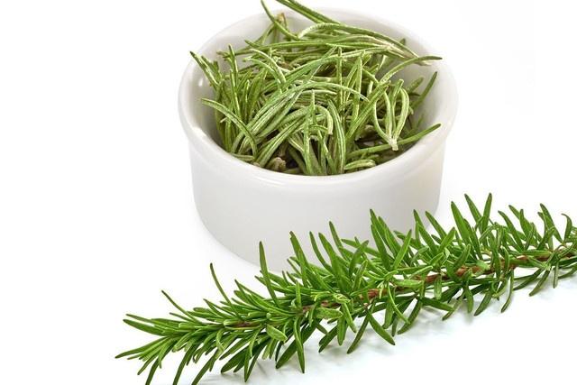 Для лікувальних цілей використовують молоді пагони або листя розмарину